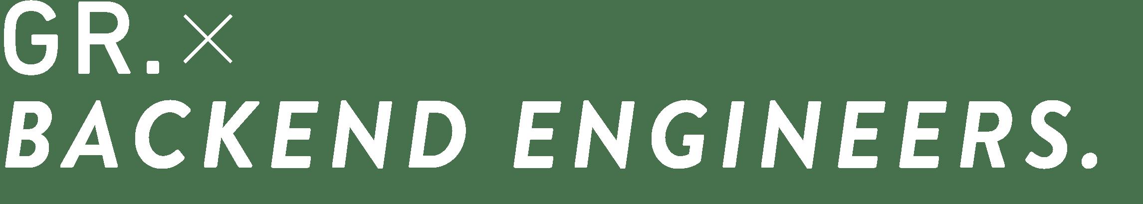 GR.×WEB ENGINEER